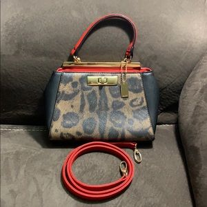 Aldo purse very stylish ! black / red